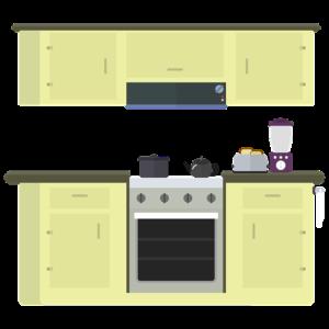 замена проводки на кухне
